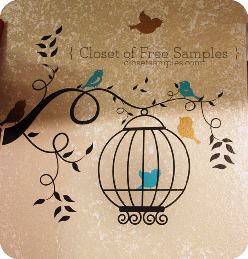 Blogger Review- Birds and Birdcage Decal