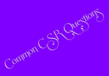 Common Customer Service Questions