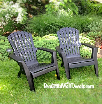 Patio Chair Makeover