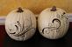 Designs EMB400 and EMB402 on pumpkins!