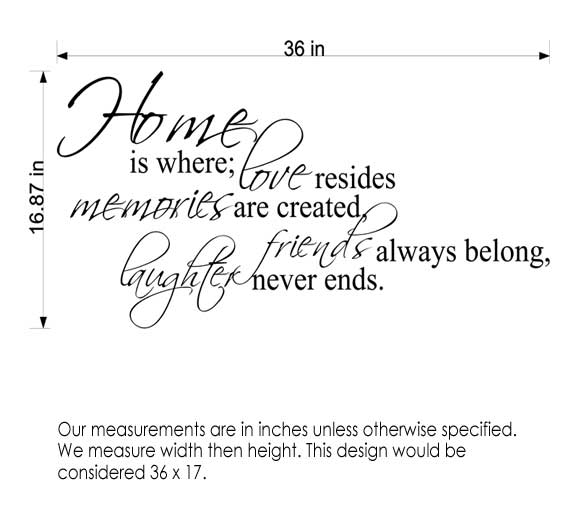 Measuring a Decal