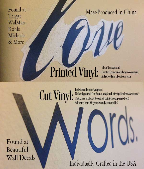 Cut Vinyl vs. Printed Vinyl