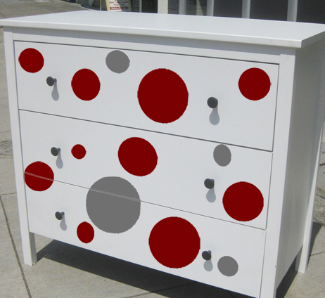 Decals on Dressers