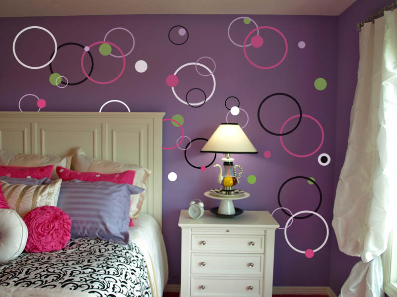 Bubble Dot Circles Wall Decal Pack