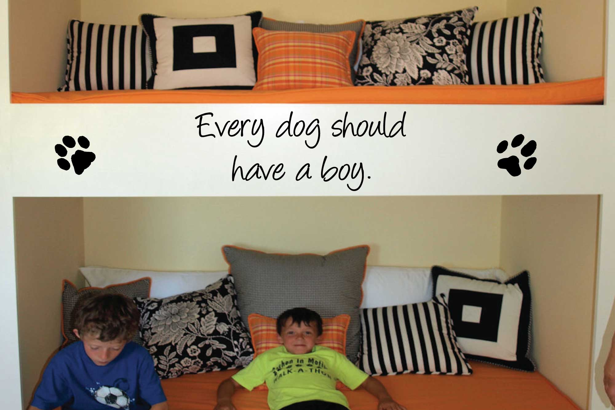 Every Dog Should Wall Decal