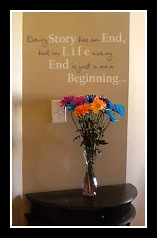 Every Story Has An End Wall Decal