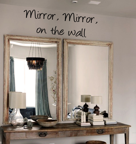 Mirror Mirror Wall Decal
