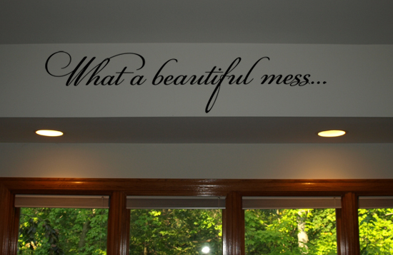 Beautiful Mess Wall Decals