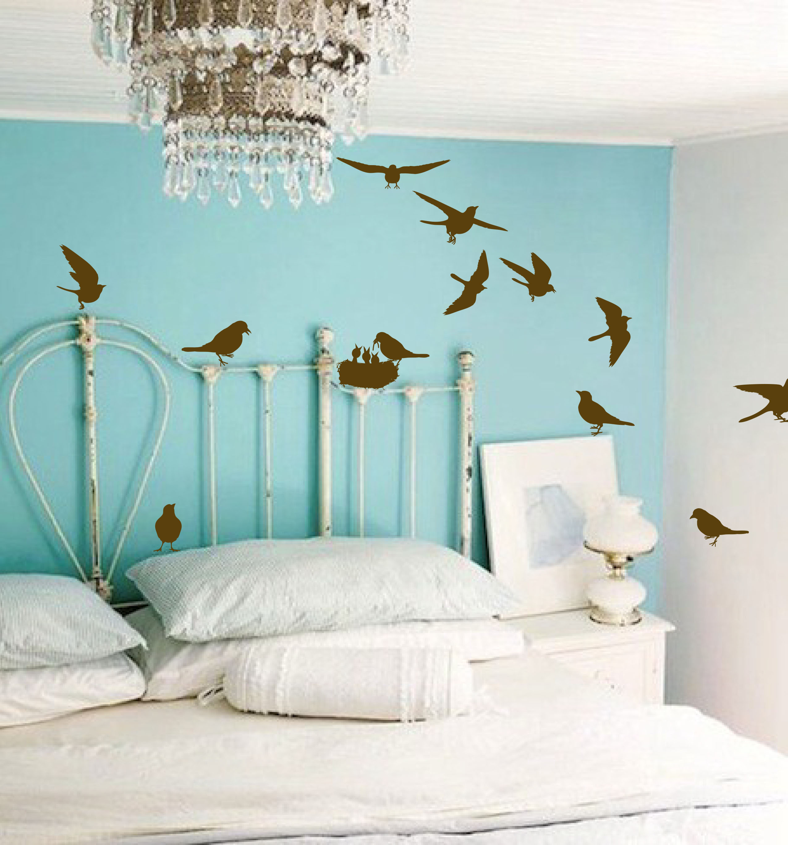 Multiple Birds Wall Decal