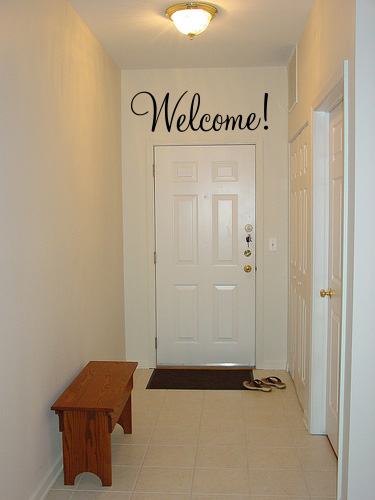 Welcome Monterey Wall Decal