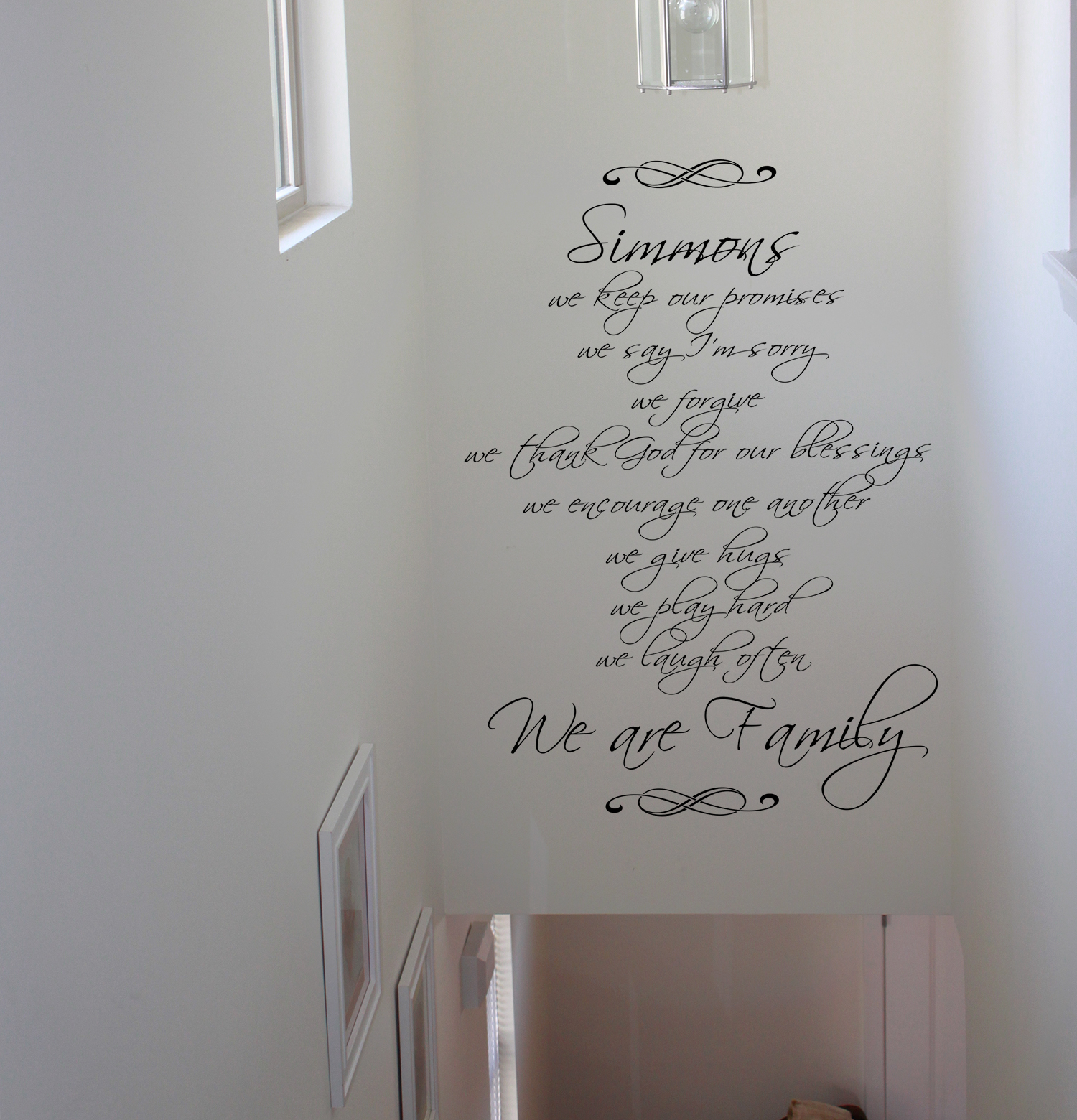 Family-We Are Wall Decal