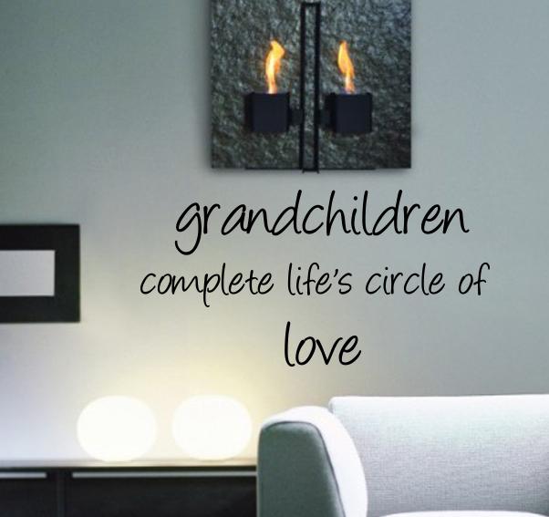 Grandchildren Wall Decal