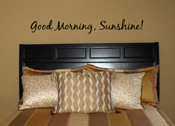 Good Morning Sunshine Wall Decal