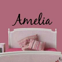 Name Design Wall Decal