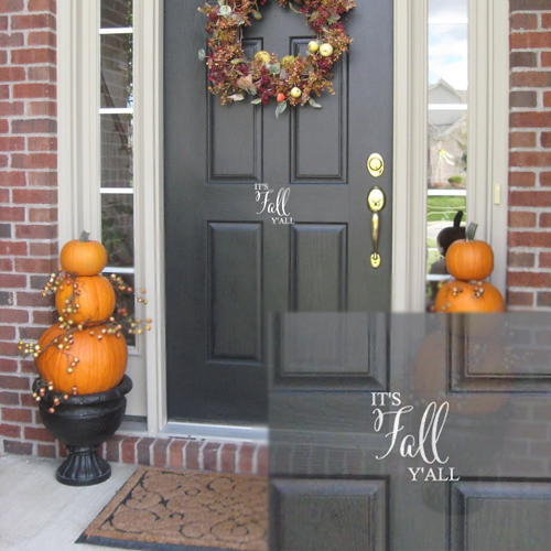 It's Fall Wall Decal