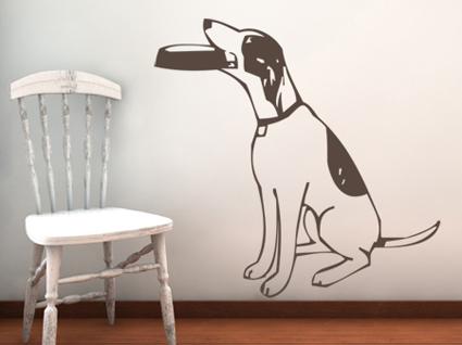 Man's Best Friend Wall Decal