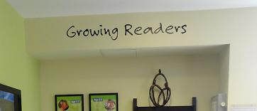 Growing Readers Wall Decal