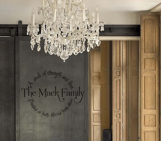 Family Circle Name | Wall Decals