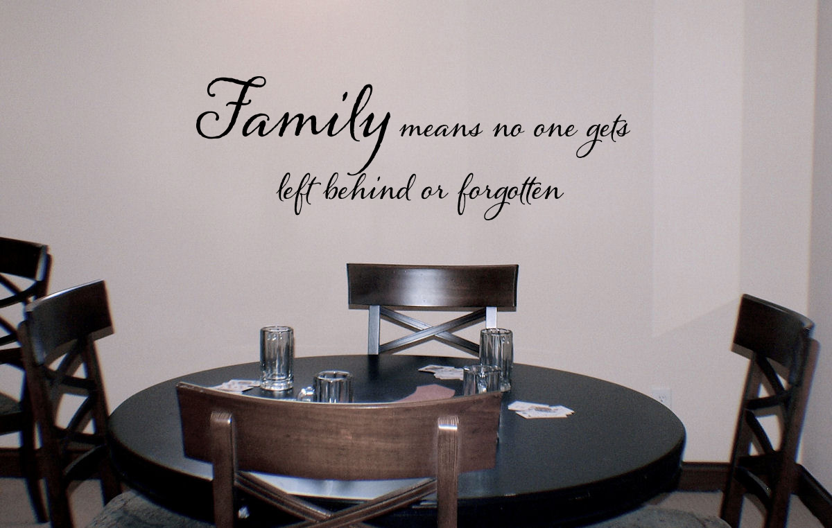 Family Means Wall Decal