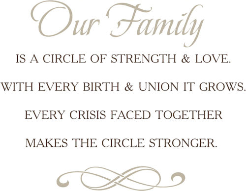 Family Circle | Wall Decals