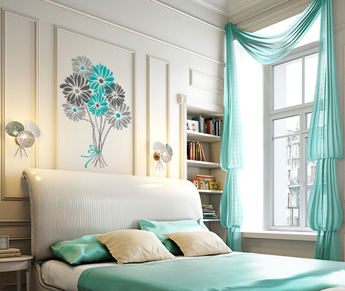 Flower Bouquet Wall Decal