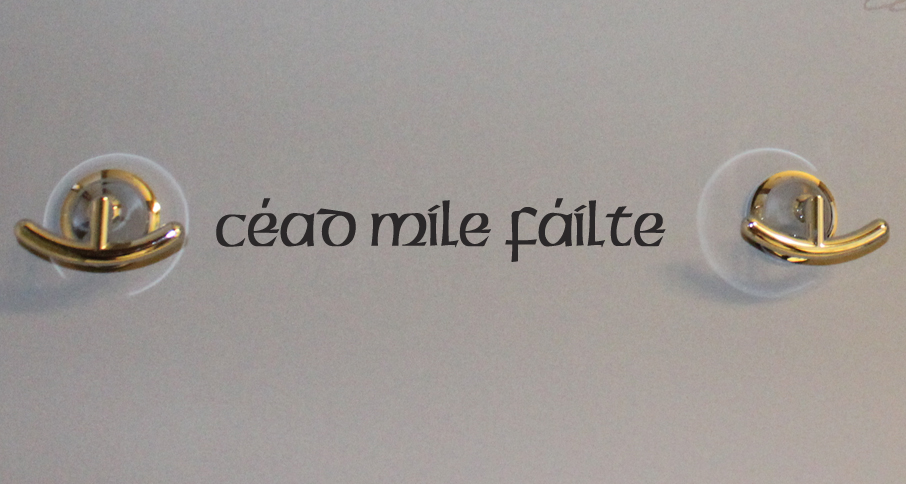 Cead Mile Failte Wall Decal