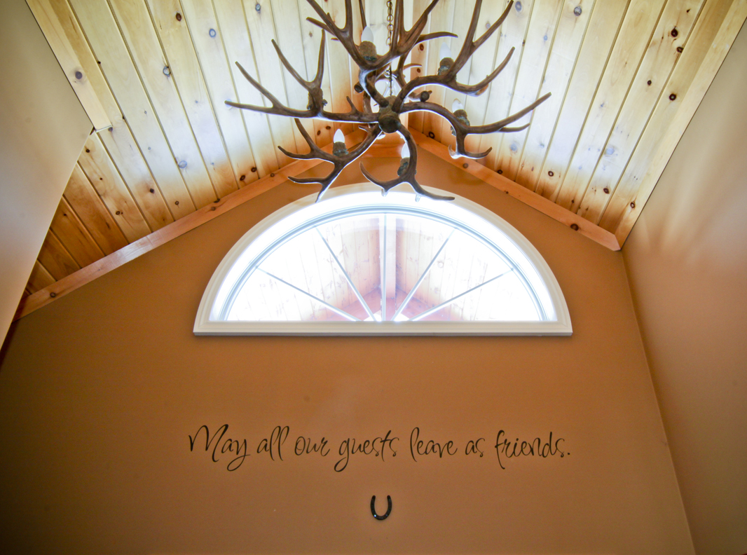 May Our Guests Wall Decal