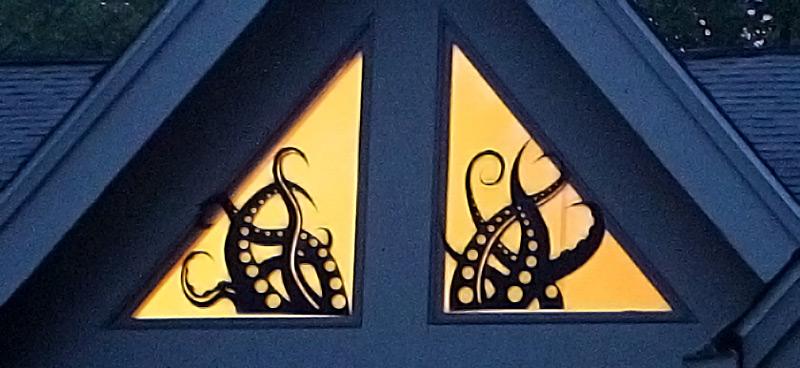 Kraken Window Monster Wall or Window Decal