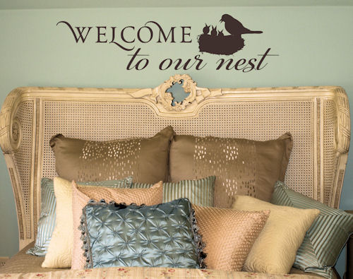 Welcome to Our Nest | Wall Decal