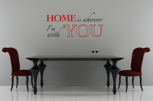 Home With You Wall Decal
