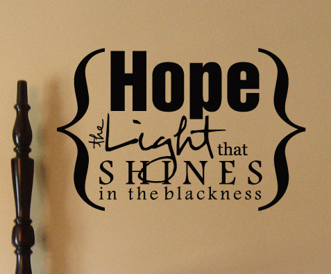 Hope Light Shines | Wall Decals