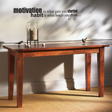 Habit Keeps You Going Wall Decal