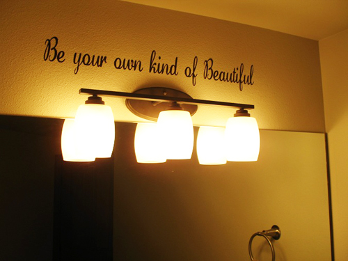 Be Your Own Beautiful Wall Decal