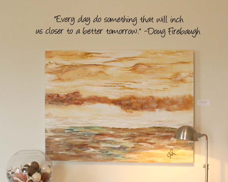 Closer To Better Tomorrow Wall Decal