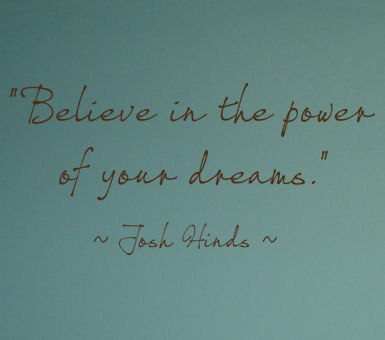 Power Of Your Dreams Wall Decals