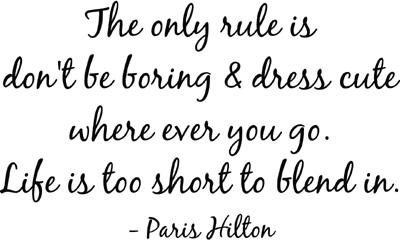 Paris Hilton | Wall Decals