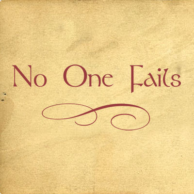 No One Fails Wall Decals