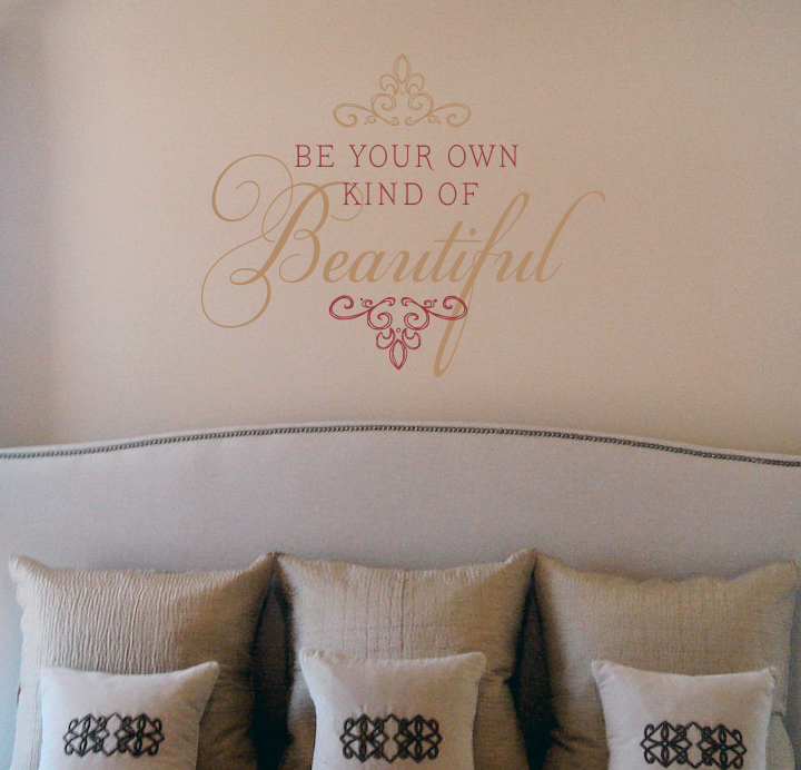 Elegant Own Kind Of Beautiful Wall Decal