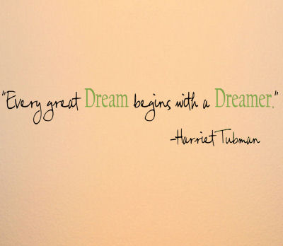 Every Great Dream Wall Decals