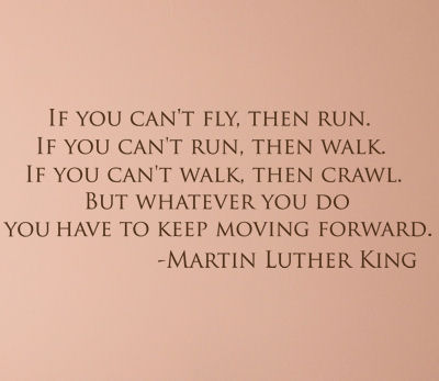 Keep Moving Forward Wall Decals