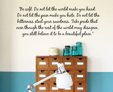 A Beautiful Place Wall Decal