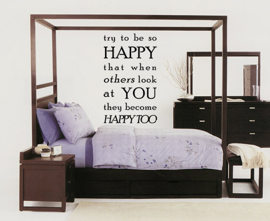 Be So Happy Wall Decal
