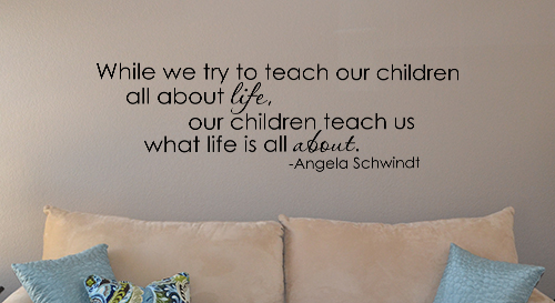 What Life is All About Wall Decal