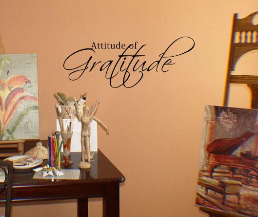 Attitude Wall Decal