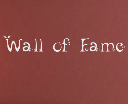 Leafy Wall Of Fame Wall Decals