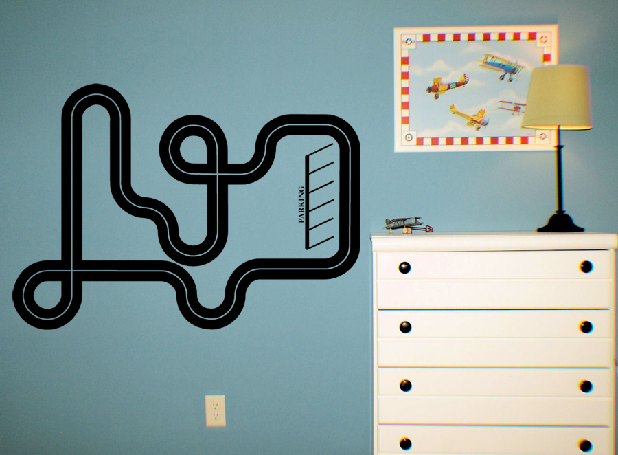 Road Map   Wall Decals