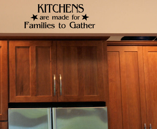 Kitchens Families to Gather Wall Decal