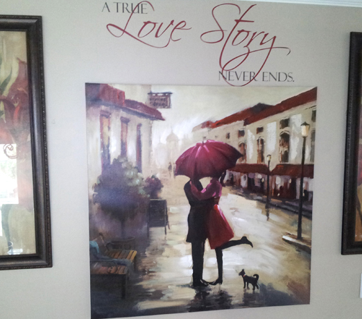 A True Love Story | Wall Decal