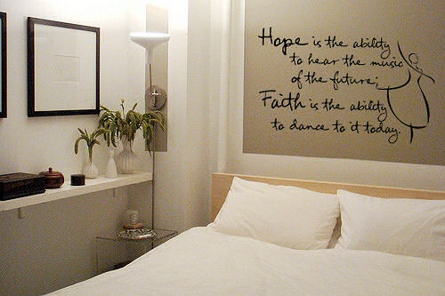 Hope & Faith Wall Decal