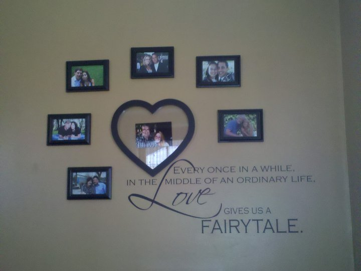 Love Gives Us Fairytale Tall Wall Decal